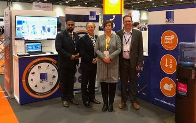 NSL Telecoms exhibit at IP Expo Europe 2018