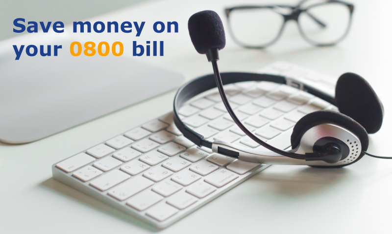 Save money on your 0800 bill with NSL Telecoms